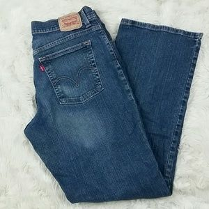Levis Bootcut Relaxed 550 Stretch Plus Size 16